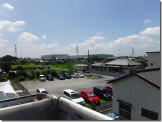 加須市中ノ目H様 東京スカイツリー方向の景色。