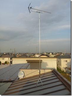 熊谷市石原N様 アンテナ工事完了。