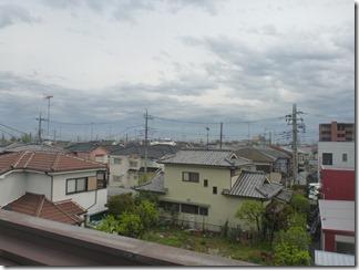 熊谷市石原N様 東京スカイツリー方向の景色(完了)。
