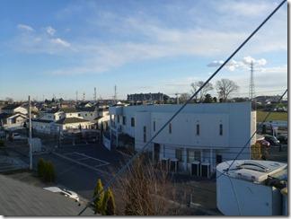 加須市南篠崎T様 東京スカイツリー方向の景色。