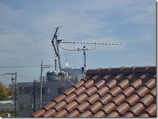 加須市上三俣H様 アンテナ工事完了。