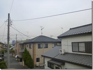 鴻巣市愛の町S様 東京スカイツリー方向の景色。