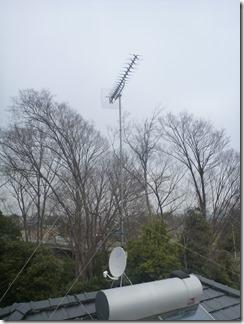 鴻巣市滝馬室K様 アンテナ工事完了。