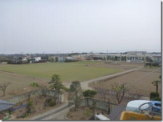 羽生市今泉F様 東京スカイツリー方向の景色(完了)。
