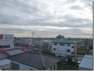 幸手市東A様 東京スカイツリー方向の景色。