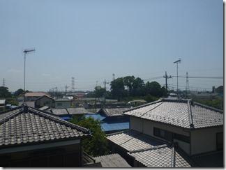鴻巣市屈巣O様 東京スカイツリー方向の景色(完了)。