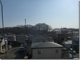 北本市下石戸下N様 東京スカイツリー方向の景色。