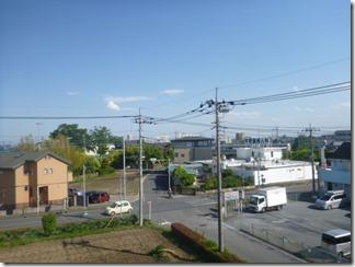 鴻巣市筑波H様 東京スカイツリー方向の景色(完了)。