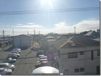 鴻巣市人形S様 東京スカイツリー方向の景色(完了)。