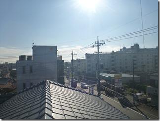 北本市二ツ家H様 東京スカイツリー方向の景色(完了)。