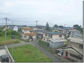熊谷市船木台I様 東京スカイツリー方向の景色。