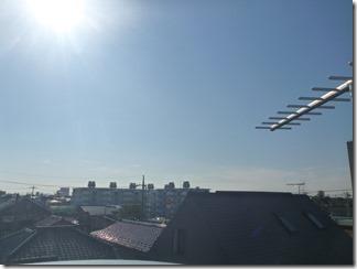 鴻巣市神明A様 東京スカイツリー方向の景色。