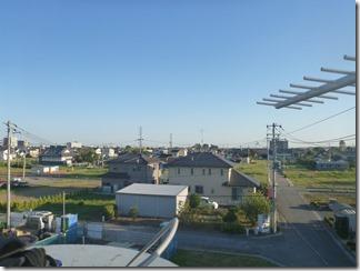 鴻巣市北新宿F様 東京スカイツリー方向の景色。