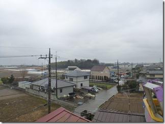 熊谷市善ケ島O様 東京スカイツリー方向の景色(完了)。