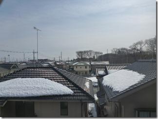 北本市中丸I様 東京スカイツリー方向の景色(完了)。