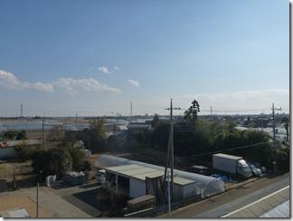 鴻巣市広田K様 東京スカイツリー方向の景色。