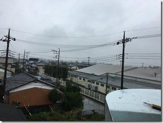 熊谷市善ヶ島N様 東京スカイツリー方向の景色(完了)。