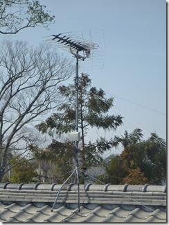 行田市谷郷N様 アンテナ工事完了。