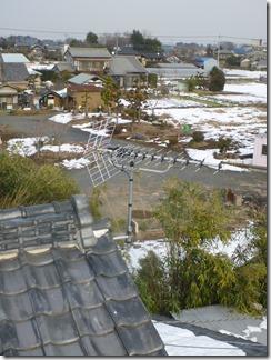 鴻巣市広田I様 アンテナ工事完了。