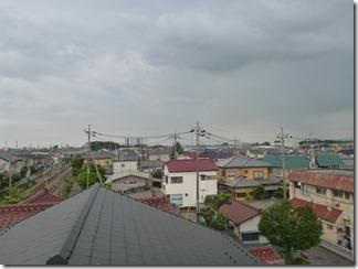 鴻巣市吹上富士見H様 東京スカイツリー方向の景色(完了)。
