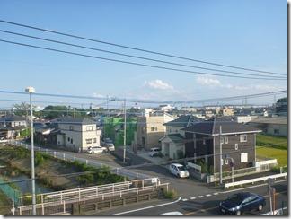 鴻巣市鴻巣H様 東京スカイツリー方向の景色(完了)。