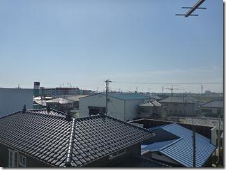 行田市持田S様 東京スカイツリー方向の景色(完了)。