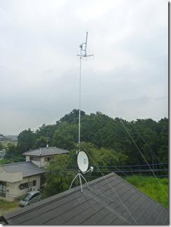 行田市真名板G様 アンテナ工事完了。