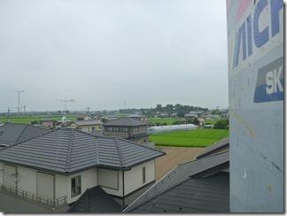 行田市真名板G様 児玉局方向の景色(完了)。