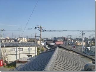 熊谷市肥塚K様 東京スカイツリー方向の景色(完了)。