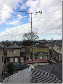 羽生市上新郷D様 アンテナ工事完了。