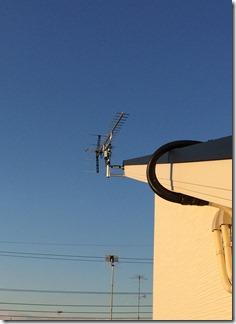 鴻巣市袋O様 アンテナ工事完了。