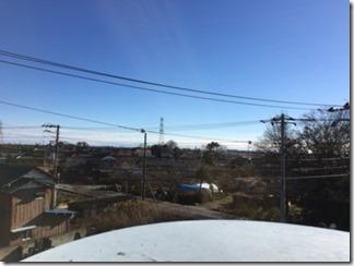 鴻巣市境S様 東京スカイツリー方向の景色(完了)。