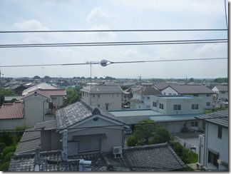 熊谷市曙町E様 東京スカイツリー方向の景色(完了)。