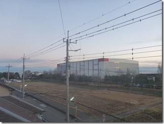 加須市久下I様 東京スカイツリー方向の景色。