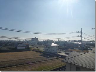 行田市谷郷K様 東京スカイツリー方向の景色。