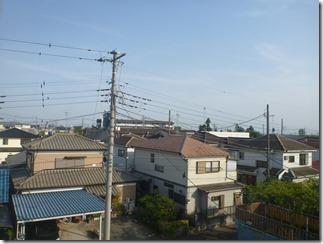 鴻巣市登戸T様 東京スカイツリー方向の景色(完了)。