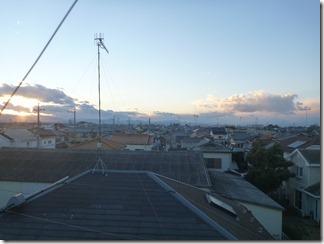 行田市谷郷K様 児玉局方向の景色。