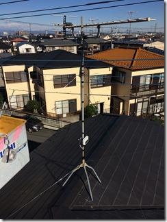 鴻巣市新宿M様 アンテナ工事完了。