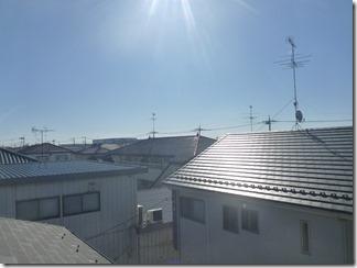 加須市南町H様 東京スカイツリー方向の景色(完了)。