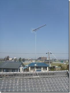熊谷市万吉O様 アンテナ工事完了。