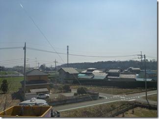 熊谷市万吉O様 東京スカイツリー方向の景色(完了)。
