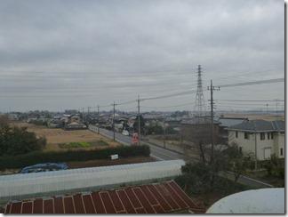 鴻巣市北根K様 東京スカイツリー方向の景色。