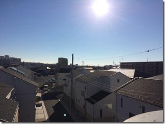 鴻巣市吹上富士見S様 東京スカイツリー方向の景色。