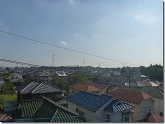 熊谷市小江川K様 東京スカイツリー方向の景色(完了)。