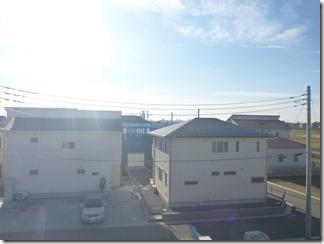 久喜市西大輪T様 東京スカイツリー方向の景色。