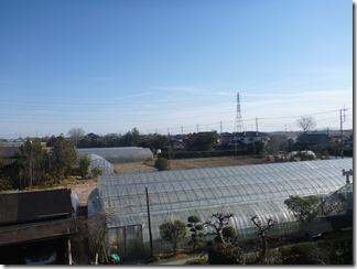 鴻巣市北根U様 東京スカイツリー方向の景色(完了)。
