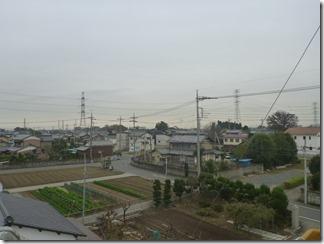 熊谷市東別府K様 東京スカイツリー方向の景色(完了)。