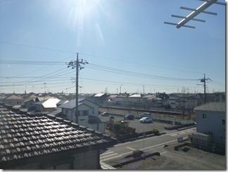 鴻巣市ひばり野F様 東京スカイツリー方向の景色(完了)。