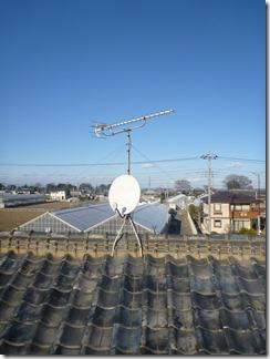鴻巣市広田K様 アンテナ工事完了。