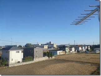 行田市緑町K様 東京スカイツリー方向の景色。